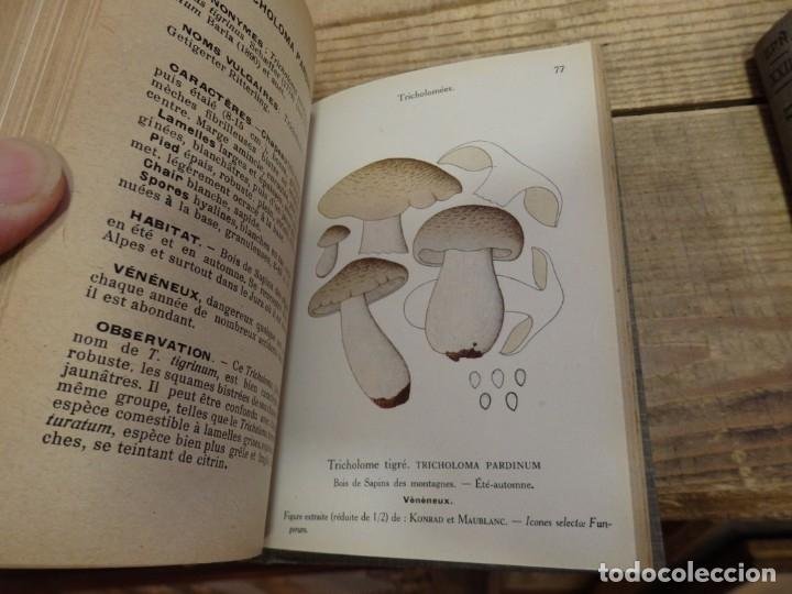 Libros antiguos: MICOLOGIA, LES CHAMPIGNONS DE FRANCE, 2 TOMOS, 1926 Y 1927, EN FRANCES, MAGNIFICO - Foto 3 - 174211167
