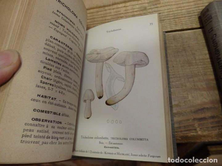 Libros antiguos: MICOLOGIA, LES CHAMPIGNONS DE FRANCE, 2 TOMOS, 1926 Y 1927, EN FRANCES, MAGNIFICO - Foto 4 - 174211167