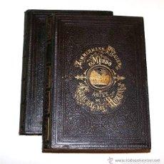 Libros antiguos: EL MUNDO ANTES DE LA CREACION DEL HOMBRE. FIGUIER & ZIMMERMANN / ED. MONTANER Y SIMÓN. 1870.. Lote 174328332