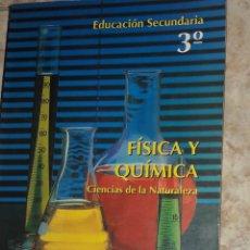 Libros antiguos: LIBRO INSTITUTO EDUCACION SECUNDARIA 3 FISICA Y QUIMICA CIENCIAS DE LA NATURALEZA ALGAIDA. Lote 180991572