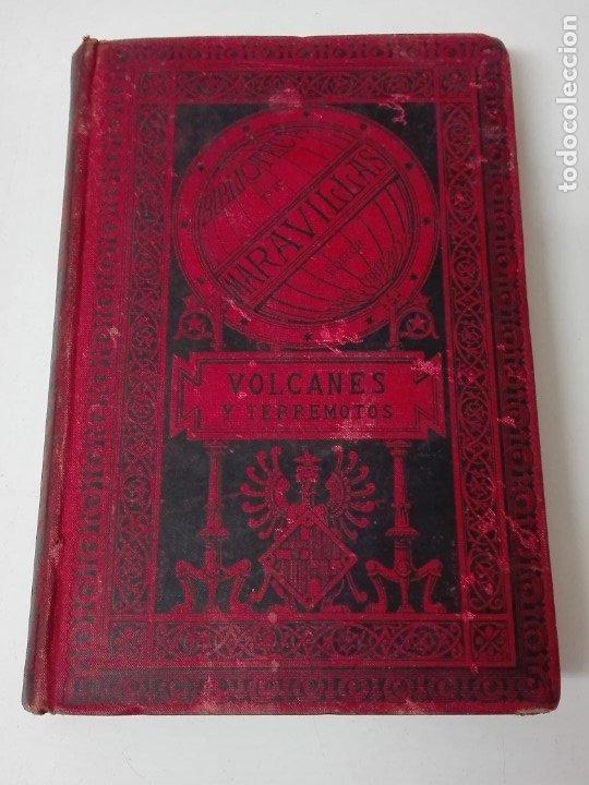VOLCANES Y TERREMOTOS CECILIO NAVARRO 1885 ILUSTRADO (Libros Antiguos, Raros y Curiosos - Ciencias, Manuales y Oficios - Bilogía y Botánica)