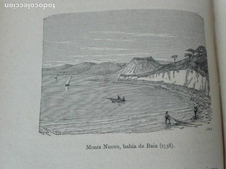 Libros antiguos: VOLCANES Y TERREMOTOS CECILIO NAVARRO 1885 ILUSTRADO - Foto 9 - 174686053