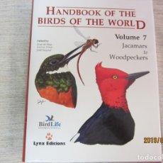 Libros antiguos: BIRDS OF THE WORLD - VOLUMEN 7. Lote 175592307