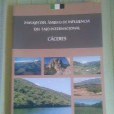 Libros antiguos: TAJO INTERNACIONAL, PISAJES DEL AMBITO DE INFLUIENCIA DEL. . Lote 175705753