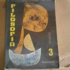 Libros antiguos: FILOSOFIA¡¡¡ESTADO DE FETUOSO,ALGUNA HOJA PINTADA¡¡AÑOS 70 80¡. Lote 176560252