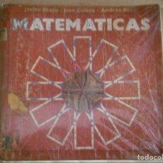 Libros antiguos: MATEMATICAS¡ESTADO DE FETUOSO,ALGUNA HOJA PINTADA¡¡AÑOS 70 80¡. Lote 176560412