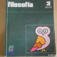 Libros antiguos: FILOSOFIA¡¡¡ESTADO DE FETUOSO,ALGUNA HOJA PINTADA¡¡AÑOS 70 80¡. Lote 176560650
