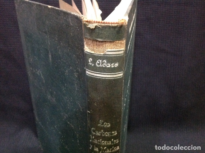 Libros antiguos: LOS CARBONES NACIONALES Y LA MARINA DE GUERRA. OVIEDO 1911. MINERÍA. ASTURIAS - Foto 5 - 176734267