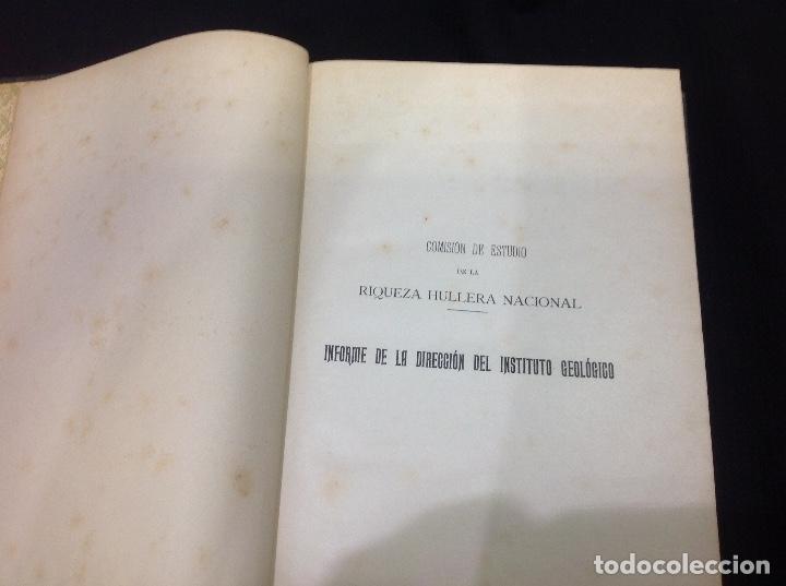 Libros antiguos: LOS CARBONES NACIONALES Y LA MARINA DE GUERRA. OVIEDO 1911. MINERÍA. ASTURIAS - Foto 6 - 176734267