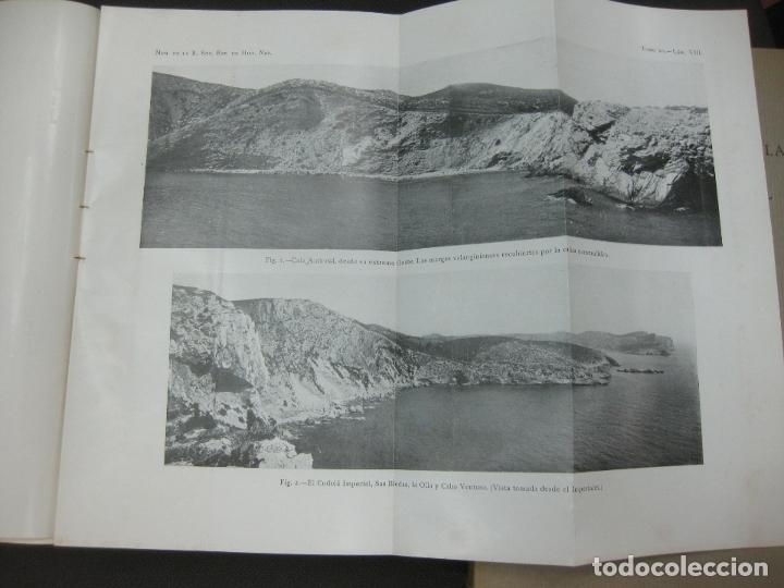Libros antiguos: MEMORIAS DE LA REAL SOCIEDAD ESPAÑOLA DE HISTORIA NATURAL. TOMO XV. (F. 1-2) MADRID 1929 - Foto 3 - 176820258