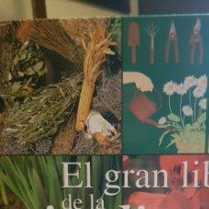 Libros antiguos: EL GRAN LIBRO DE LA JARDINERÍA. ED. RUEDA 2007 (TAPA DURA). Lote 177035364