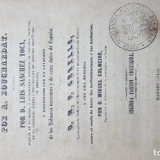Libros antiguos: TRATADO COMPLETO DE HISTORIA NATURAL 1848 POR (A BOUCHARDAT) 2º EDICION CORREGIDA, 318 GRABADOS. Lote 177038950