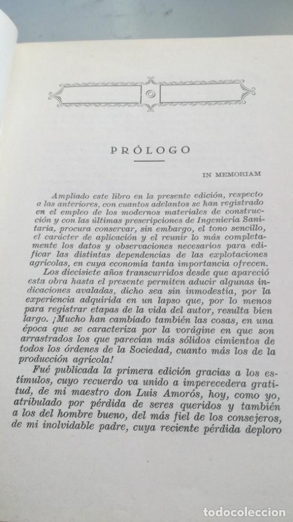Libros antiguos: CONSTRUCCIONES AGRICOLAS - JOSE Mª DE SOROA Y PINEDA - 1930 RUIZ HERMANO EDITORES/ CO 31 - Foto 5 - 177626309