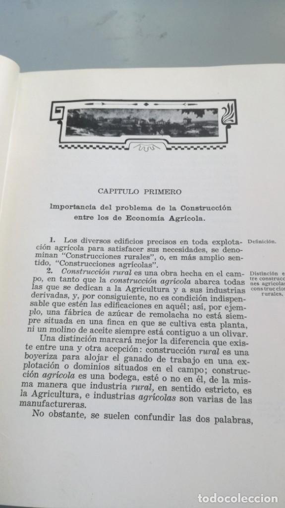 Libros antiguos: CONSTRUCCIONES AGRICOLAS - JOSE Mª DE SOROA Y PINEDA - 1930 RUIZ HERMANO EDITORES/ CO 31 - Foto 16 - 177626309