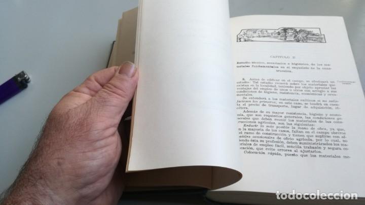 Libros antiguos: CONSTRUCCIONES AGRICOLAS - JOSE Mª DE SOROA Y PINEDA - 1930 RUIZ HERMANO EDITORES/ CO 31 - Foto 35 - 177626309