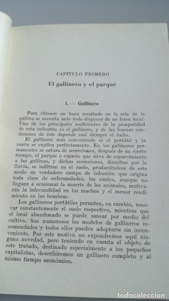 Libros antiguos: AVICULTURA - J TREVISANI - GUSTAVO GILI 1931 - VERSION ARTURO CABALLERO/ CO 31 - Foto 6 - 177626344