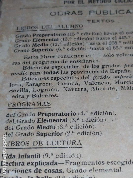 Libros antiguos: M.PORCEL Y RIERA GRADO SUPERIOR CURSO METODO CICLICO EN LA ENSEÑANZA PRIMARIA ARITMÉTICA 1904 UNICO - Foto 8 - 177969333