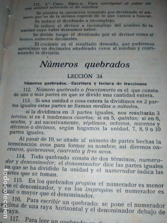 Libros antiguos: M.PORCEL Y RIERA GRADO SUPERIOR CURSO METODO CICLICO EN LA ENSEÑANZA PRIMARIA ARITMÉTICA 1904 UNICO - Foto 11 - 177969333