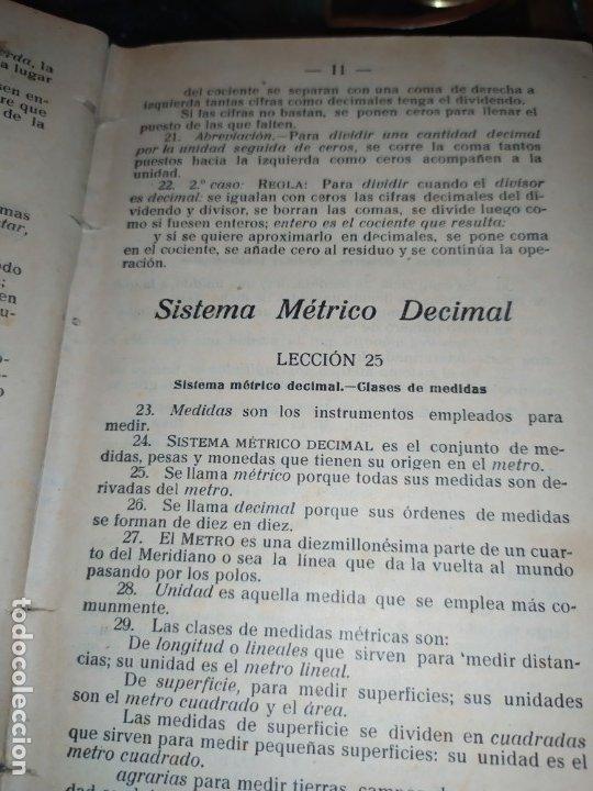 Libros antiguos: M.PORCEL Y RIERA GRADO SUPERIOR CURSO METODO CICLICO EN LA ENSEÑANZA PRIMARIA ARITMÉTICA 1904 UNICO - Foto 13 - 177969333