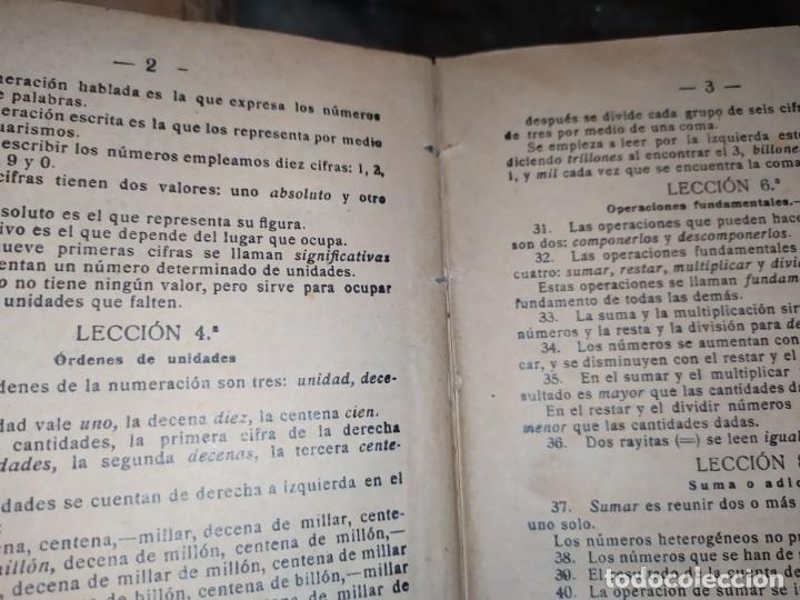 Libros antiguos: M.PORCEL Y RIERA GRADO SUPERIOR CURSO METODO CICLICO EN LA ENSEÑANZA PRIMARIA ARITMÉTICA 1904 UNICO - Foto 15 - 177969333