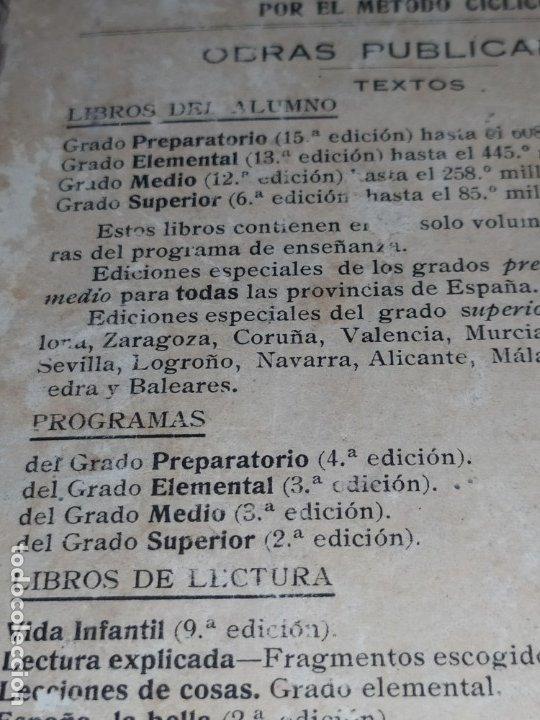 Libros antiguos: M.PORCEL Y RIERA GRADO SUPERIOR CURSO METODO CICLICO EN LA ENSEÑANZA PRIMARIA ARITMÉTICA 1904 UNICO - Foto 17 - 177969333