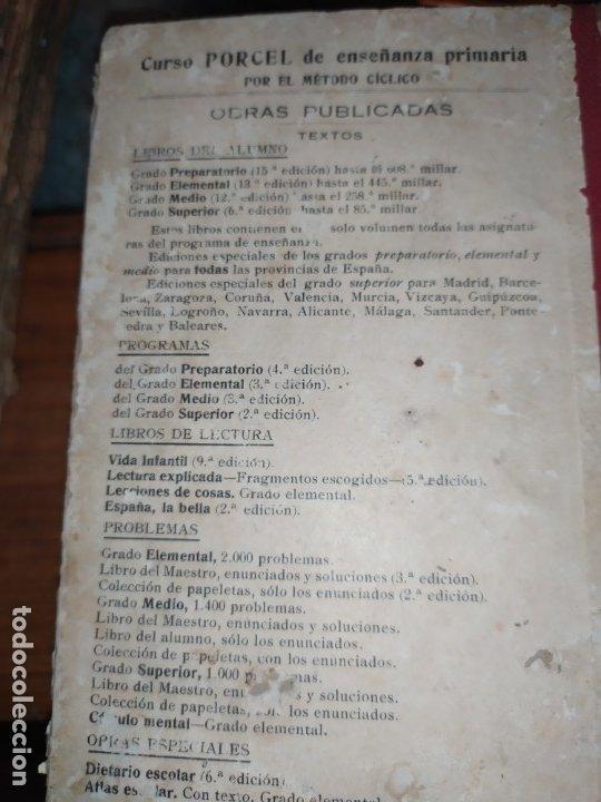 Libros antiguos: M.PORCEL Y RIERA GRADO SUPERIOR CURSO METODO CICLICO EN LA ENSEÑANZA PRIMARIA ARITMÉTICA 1904 UNICO - Foto 19 - 177969333