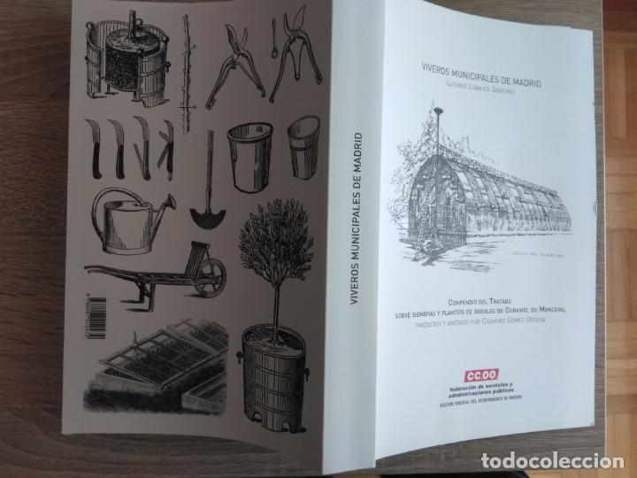 Libros antiguos: VIVEROS MUNICIPALES DE MADRID ** LUCIANO LABAJOS SÁNCHEZ - Foto 2 - 178558550