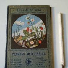 Libros antiguos: PLANTAS MEDICINALES, ATLAS DE BOLSILLO. Lote 179101663