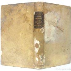 Libros antiguos: 1889 - LIBRO ANTIGUO DE QUÍMICA - ATOMOS, MOLÉCULAS - TEORÍA DE LA QUÍMICA MODERNA - PERGAMINO . Lote 179161405