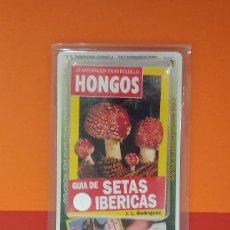 Libros antiguos: GUÍA DE SETAS IBÉRICAS - LA NATURALEZA EN MI BOLSILLO - HONGOS. Lote 179516771