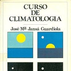 Libros antiguos: CURSO DE CLIMATOLOGÍA. Lote 180029336