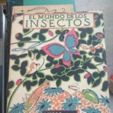 Libros antiguos: ZULUETA : EL MUNDO DE LOS INSECTOS (LIBROS NATURALEZA ESPASA CALPE. Lote 180038677
