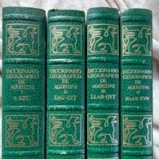 Libros antiguos: DICCIONARIO GEOGRÁFICO DE AGOSTINI. Lote 180110621