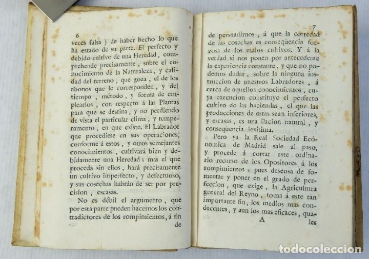 Libros antiguos: Memoria sobre el problema de los abonos de las tierras-Pedro de Torres-Imprenta y librería de Alfons - Foto 6 - 180132370