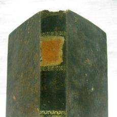 Libros antiguos: 1831 - EN CASTELLANO - MANUAL DE MINERALOGIA DE BLONDEAU - LISTADO DE METEOROS - DE MUSEO. Lote 180261670