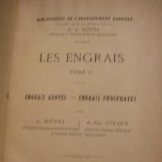 Libros antiguos: LES ENGRAIS TOME II - PORTAL DEL COL·LECCIONISTA *****. Lote 180479840