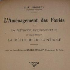 Libros antiguos: L'AMÉNAGEMENT DES FORÊTS - PORTAL DEL COL·LECCIONISTA *****. Lote 180480247