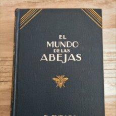 Libros antiguos: EL MUNDO DE LAS ABEJAS - EUGENIO ÉVRARD (BARCELONA, 1929) . Lote 181146753