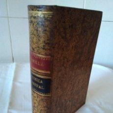 Libros antiguos: 91-QUIMICA GENERAL , SANTIAGO BONILLA MIRAT, 1893. Lote 181434537