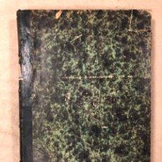 Libros antiguos: PROGRAMA Y RESUMEN DE LAS LECCIONES DE GEOMETRÍA DESCRIPTIVA. EDUARDO TORROJA. 1884 (MADRID).. Lote 181522838