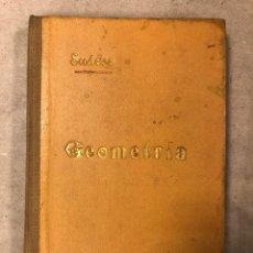 Libros antiguos: NOCIONES DE GEOMETRÍA. IGNACIO SUÁREZ SOMONTE. 1903 ESTABLECIMIENTO TIPOGRÁFICO RICARDO MENDEZ. Lote 181564822