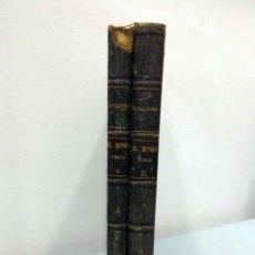 Libros antiguos: AMADEO GUILLEMIN - EL MUNDO FÍSICO. TOMOS IV Y V. MONTANER Y SIMÓN, 1884-1885.. Lote 182002457
