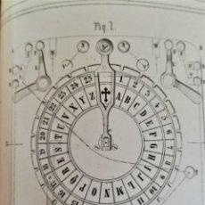 Libros antiguos: ANTIGUO LIBRO,INFORME REAL ACADEMIA SOBRE TELEGRAFIA ELECTRICA SIGLO XIX,AÑO 1856,INICIO TELEGRAFO. Lote 182068997