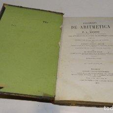 Libros antiguos: LECCIONES DE ARITMÉTICA P-L CIRODDE 1875. Lote 182161598