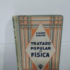 Libros antiguos: TRATADO POPULAR DE FISICA. Lote 182208312