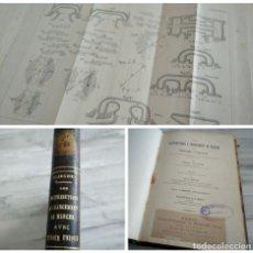 Libros antiguos: LES DISTRIBUTIONS À CHANGEMENT DE MARCHE AVEC TIROIR UNIQUE (1903) - ILUSTRADO LÁMINAS DESPLEGABLES. Lote 182777587