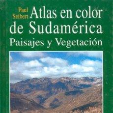 Libros antiguos: ATLAS EN COLOR DE SUDAMERICA (PAISAJES Y VEGETACIÓN). Lote 183077530