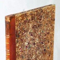 Libros antiguos: PROGRAMME DU COURS DE GÉOMÉTRIE DESCRIPTIVE, FAIT A L´UNIVERSITÉ. Lote 183436945