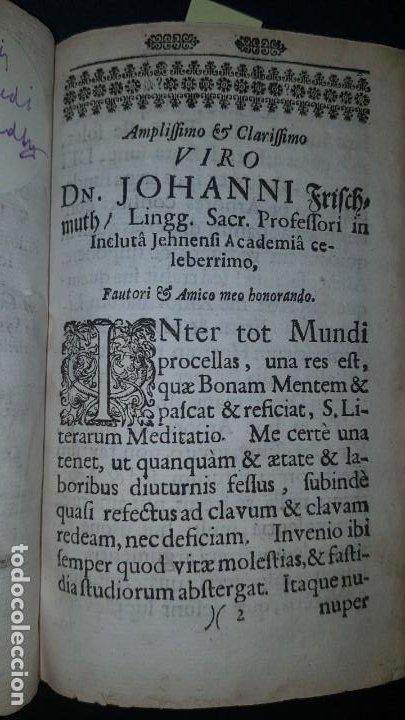 Libros antiguos: BOTÁNICA EN LA BIBLIA - Arboretum Biblicum, In quo Arbores & fructices - Foto 19 - 183862835