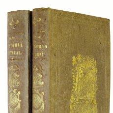 Libros antiguos: 1867 - MONLAU - COMPENDIO DE HISTORIA NATURAL - 2 TOMOS - MUY ILUSTRADO. Lote 183892027